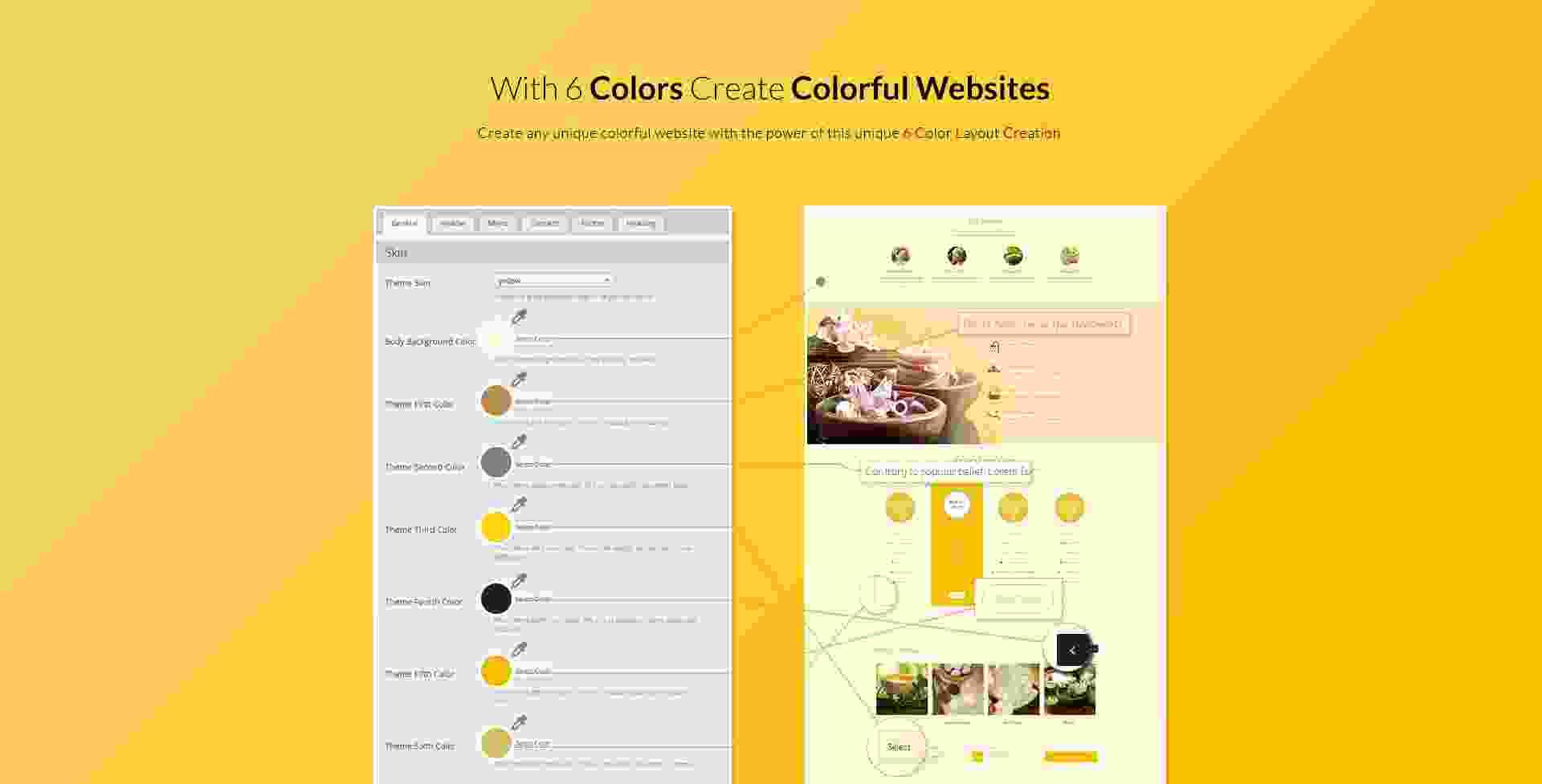 6 colors